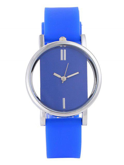 hot Analog Silicone Wrist Watch -   Mobile