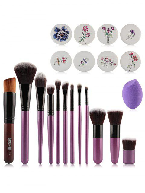 shop Makeup Brushes + Air Puffs + Beauty Blender -   Mobile