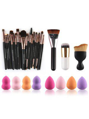 Make-up Pinsel und Beauty-Mixer