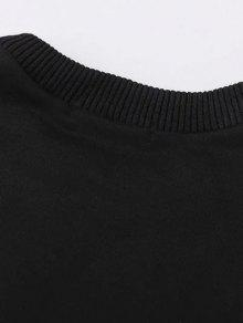 Zwei tone oversized sweatshirt kleid schwarz grau - Sweatshirt kleid lang ...