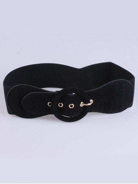 ladies Pin Buckle Elastic Belt -   Mobile