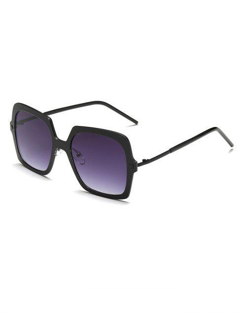 best Full Rims Square Sunglasses - BLACK  Mobile