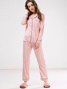 8767c8f11a Cotton Striped Pajamas Set  Cotton Striped Pajamas Set ...