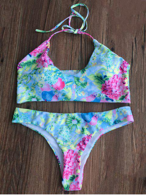 outfit Tiny Floral Padded Bikini Set - FLORAL S Mobile