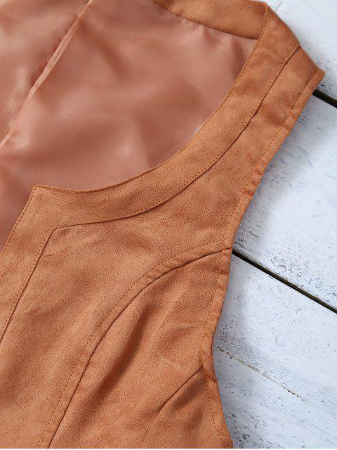 sale Cropped Waistcoat - BROWN S Mobile
