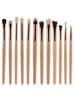 Goat Hair Eye Makeup Brushes Set - Complexion