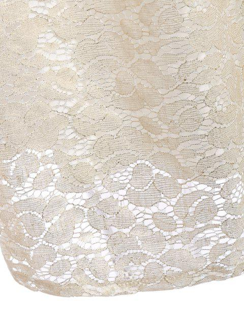 trendy Floral Lace Skirt - PALOMINO S Mobile