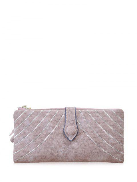 ladies Stitching Tassel Clutch Wallet -   Mobile