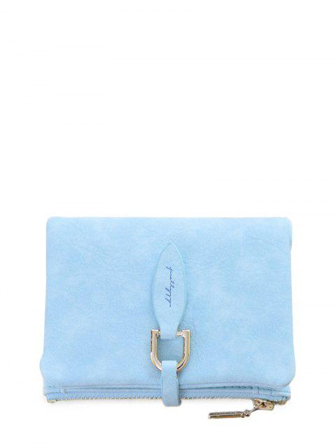 online PU Leather Bi Fold Small Wallet -   Mobile