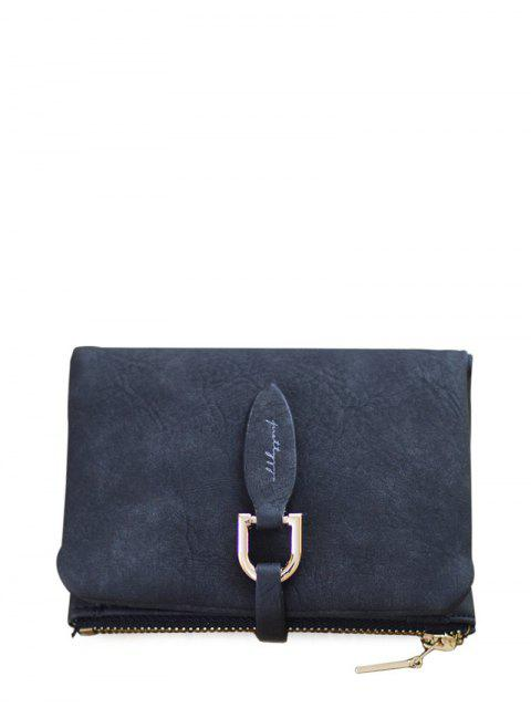 outfit PU Leather Bi Fold Small Wallet - BLACK  Mobile