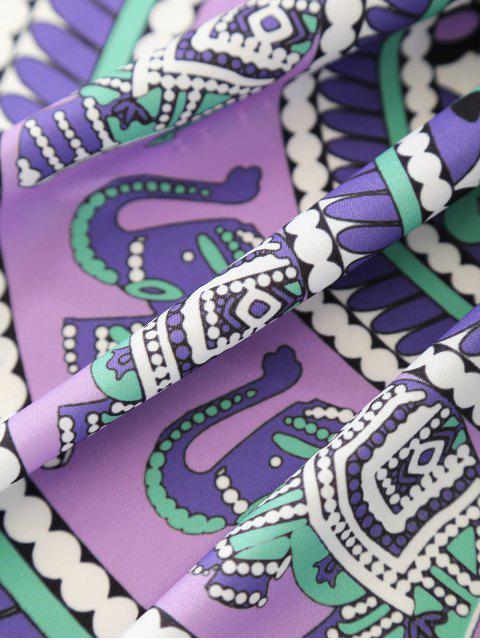 fashion Tropical Print Sarong Beach Throw - COLORMIX ONE SIZE Mobile