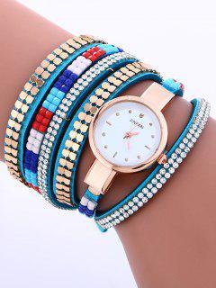 Capas Tachonado Reloj Pulsera - Azur
