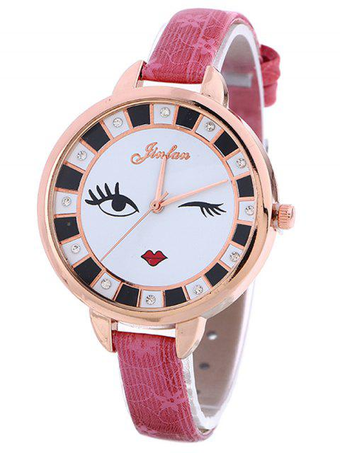 women Rhinestone Cartoon Quartz Watch - TUTTI FRUTTI  Mobile