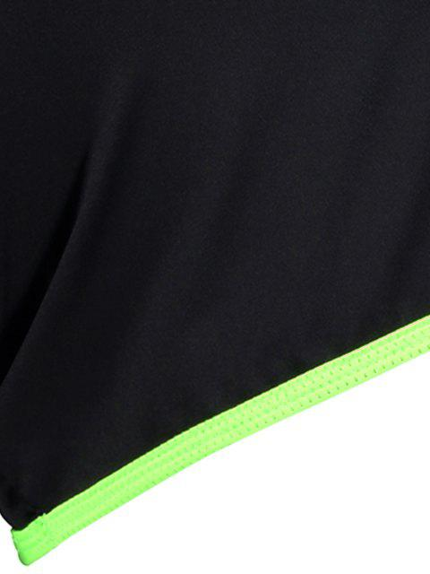 buy Elastic Piped Running Shorts -   Mobile