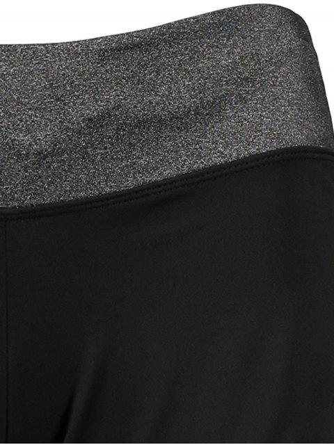 hot Elastic Piped Running Shorts -   Mobile