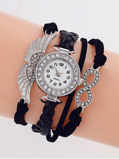 best Layered Braided Quartz Bracelet Watch -   Mobile