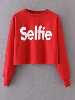Cropped Selfie Sweatshirt