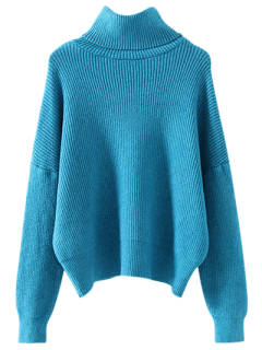 Col Roulé Jumper Relaxed - Pers