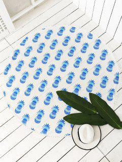 Lanzamiento De La Piña De Impresión De La Borla De La Playa - Azul