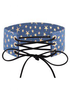 Collar Gargantilla Ajustable Bowknot Del Dril De Algodón - 04 #