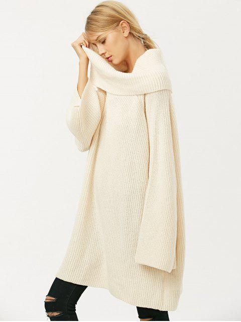 new Oversized Chunky Sweater - PALOMINO M Mobile