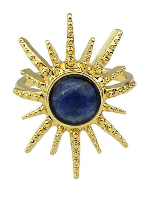 new Faux Gemstone Sun Ring -   Mobile