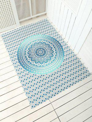 Plage jet serviette de tapis cape rectangle
