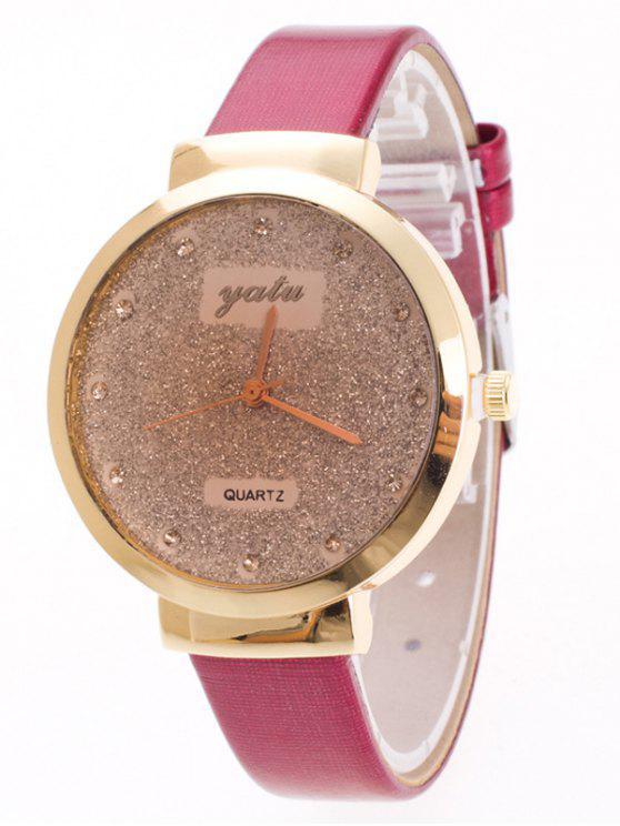 outfit Rhinestone Glitter Quartz Watch - TUTTI FRUTTI
