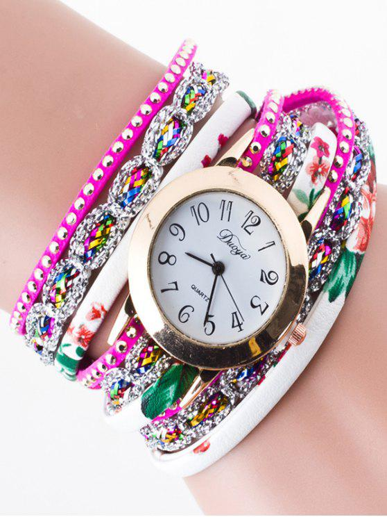 Strass Wrap Bracelet Watch - Tutti Frutti