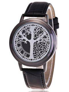 Tree Of Life LED Watch - Black