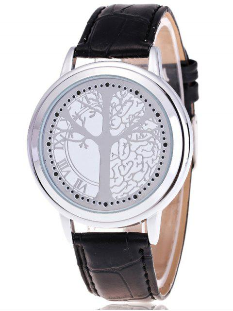 outfits Tree of Life LED Watch - WHITE  Mobile