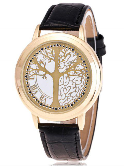 shop Tree of Life LED Watch - GOLDEN  Mobile