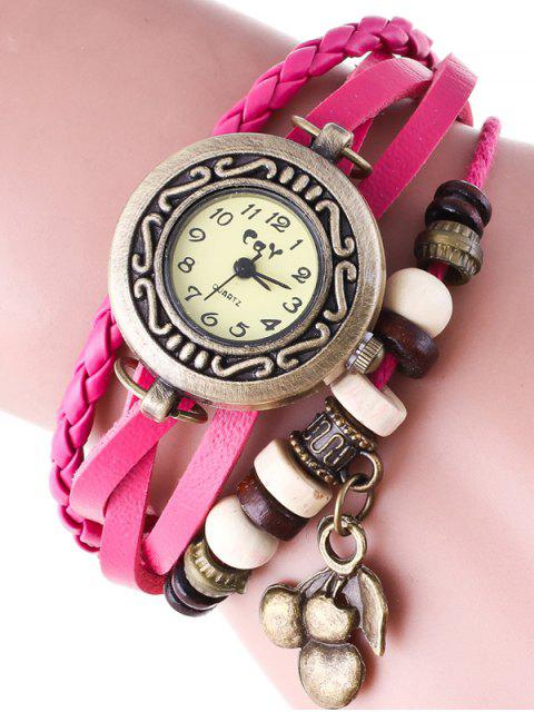 women's Braided Strand Bracelet Watch - TUTTI FRUTTI  Mobile