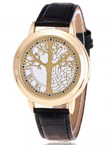Reloj LED Árbol De Vida - Dorado