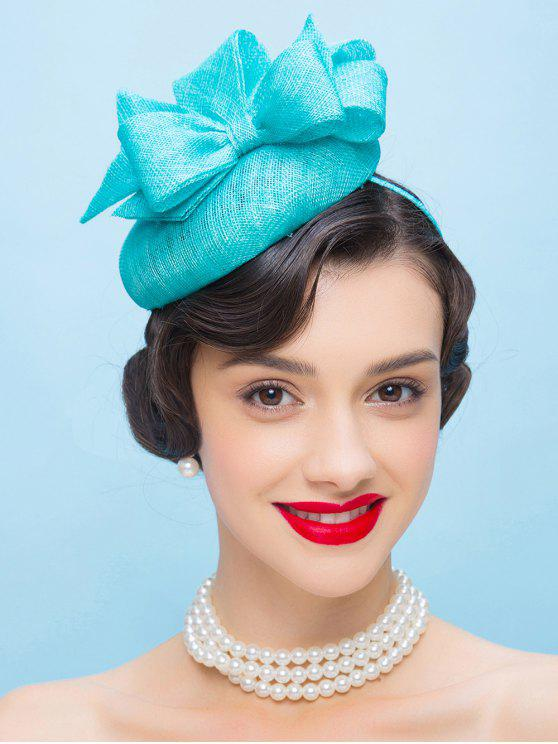 Bowknot Hairband Pillbox Hat - Pers