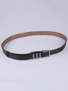 Pin De La Aleación Hebilla De Cinturón - Verde Negruzco