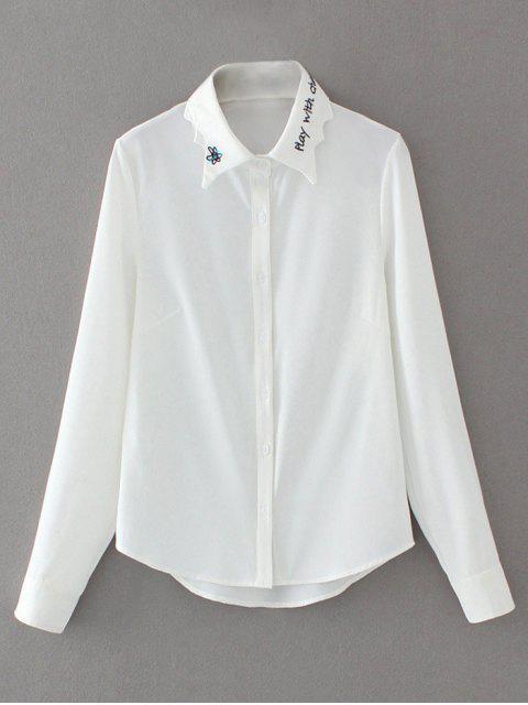 Chemise en mousseline - Blanc M Mobile
