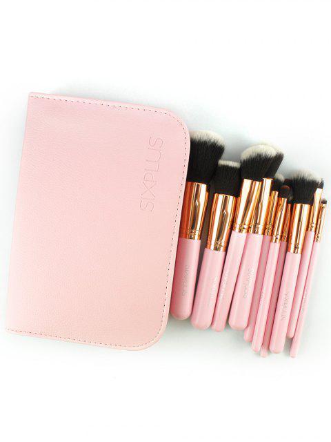 trendy 11 Pcs Makeup Brushes Kit -   Mobile