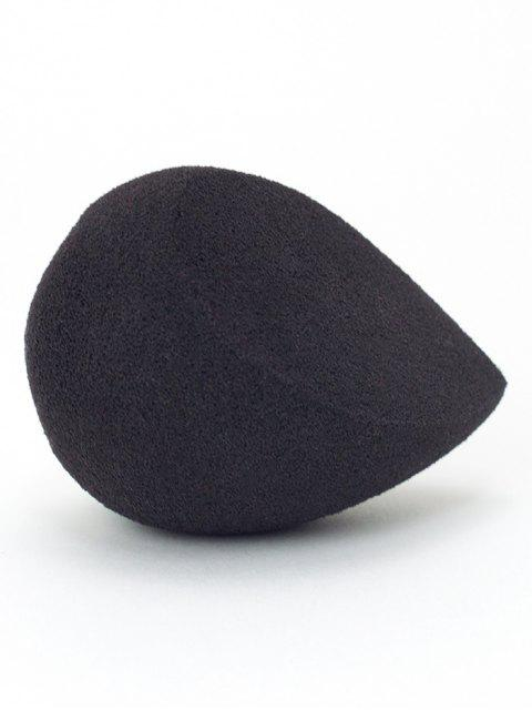 fancy Cut Water Swellable Makeup Sponge - BLACK  Mobile