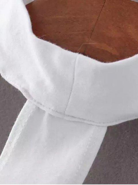 affordable Skinny Off The Shoulder Choker Bodysuit - PINK M Mobile
