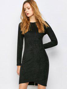 Suede Bodycon Dresses