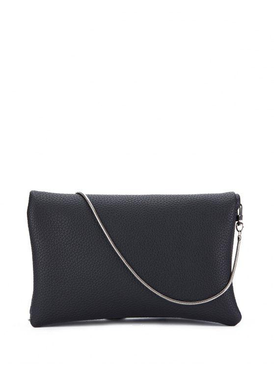 sale Snake Chain Crossbody Bag - BLACK