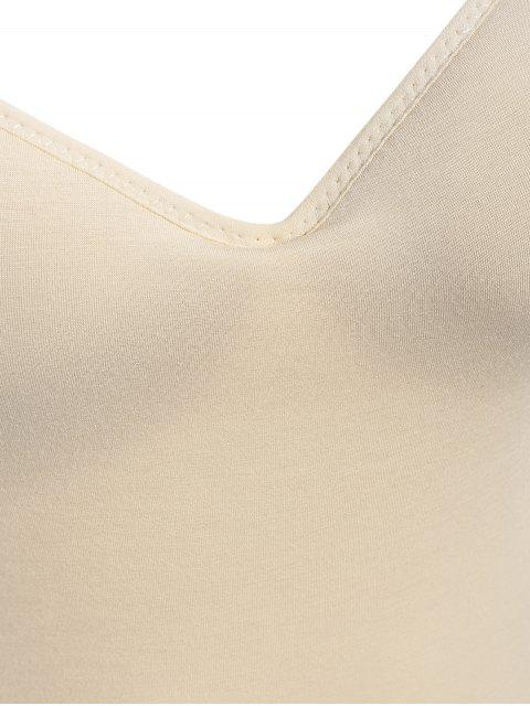 trendy Padded Camisole Bra Tank Top - COMPLEXION L Mobile