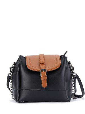 Schliesse Armband Color Block Bucket Bag