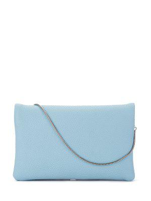 Snake Chain Crossbody Bag - Blue