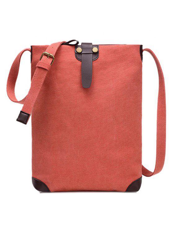 حقيبة قماش من الجلد للجنسين - ياقوتة