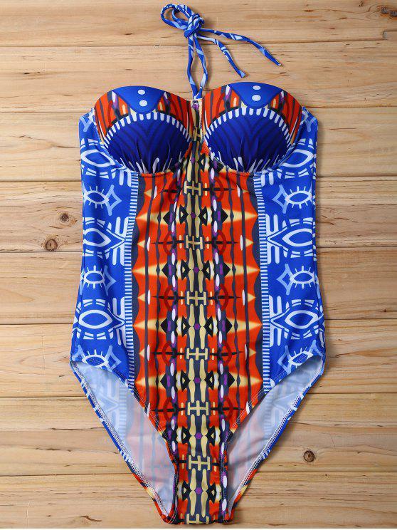 Bañador con Relleno con Estampado - Colormix S