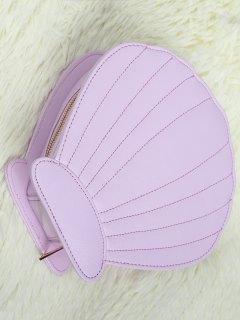 Scallop Brush Bag - Light Purple