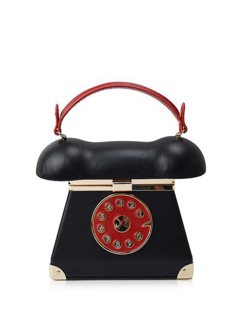 outfit Novelty Telephone Shaped Evening Bag -   Mobile