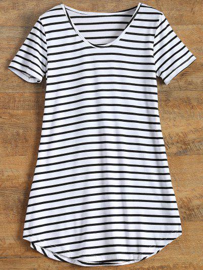 Stripes Tunic T-Shirt - Stripe M